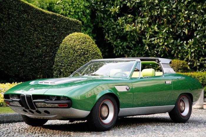 Из BMW 2800 Spicup вышла неплохая модель.