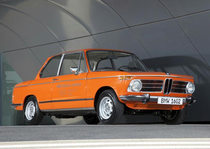 Первым электрокаром был BMW 1602 Electro-Antrieb.