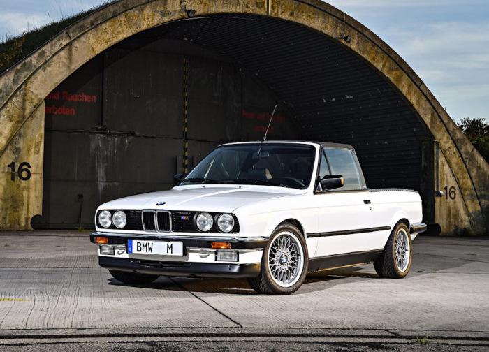 Такой BMW E30 M3 Pickup нигде больше не найдешь.