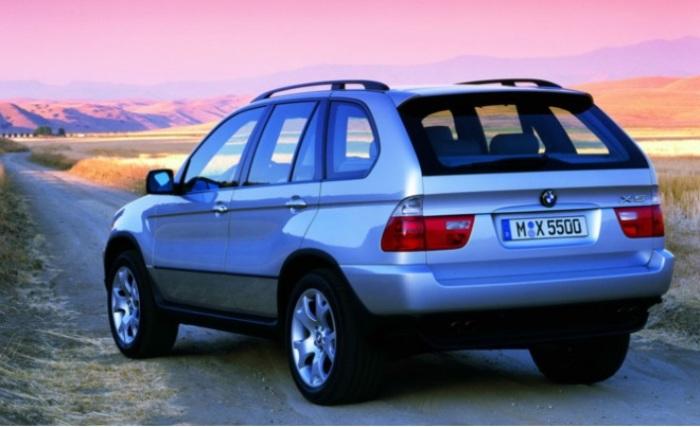 Высокое качество и надежность в BMW X5.