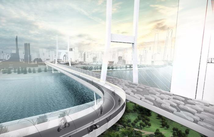 Немцы предложили проект дорог будущего.