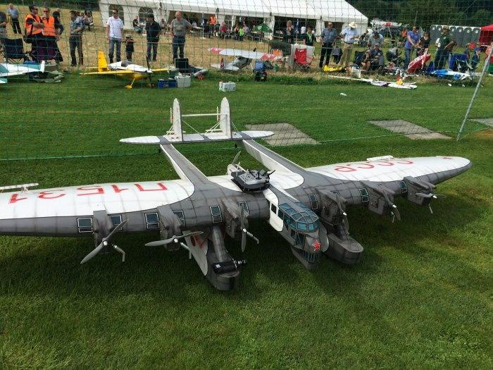 А вот модели К-7 действительно летают. |Фото: livejournal.com.
