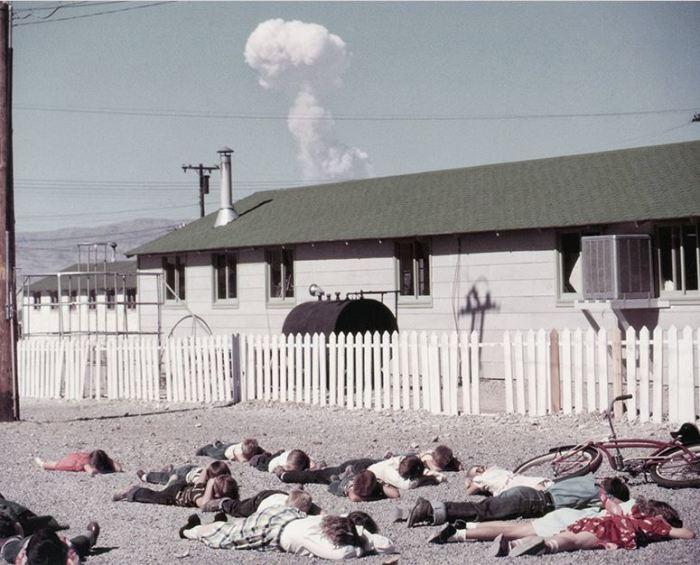 В Неваде произведено огромное количество взрывов.