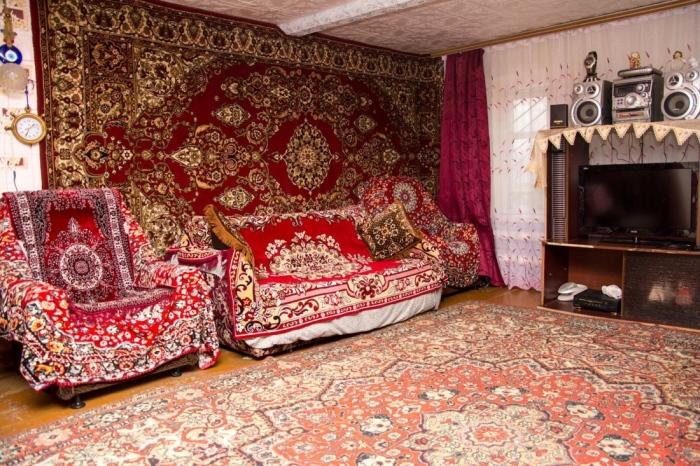 Нужно больше ковров.  Фото: bestlj.ru.