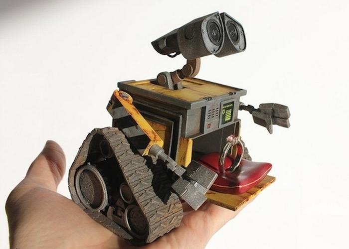 Креативная шкатулка: робот Wall-E.