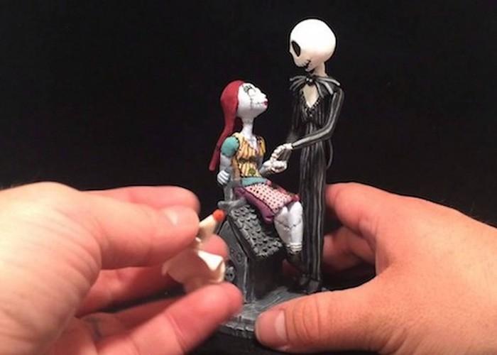 Креативная шкатулка: в стилистике мультфильма «Кошмар перед Рождеством».