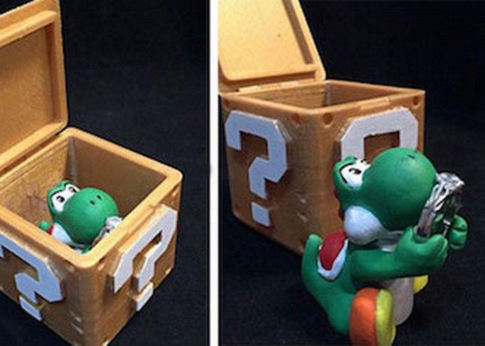 Креативная шкатулка: в стилистике игы «Супер Марио».