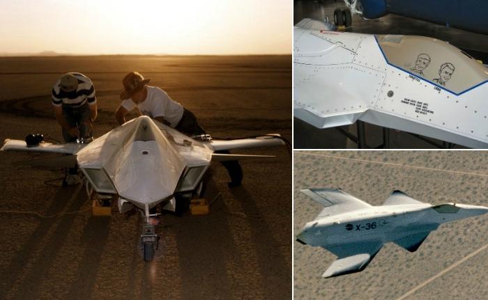 Секретный беспилотник Boeing X-36.