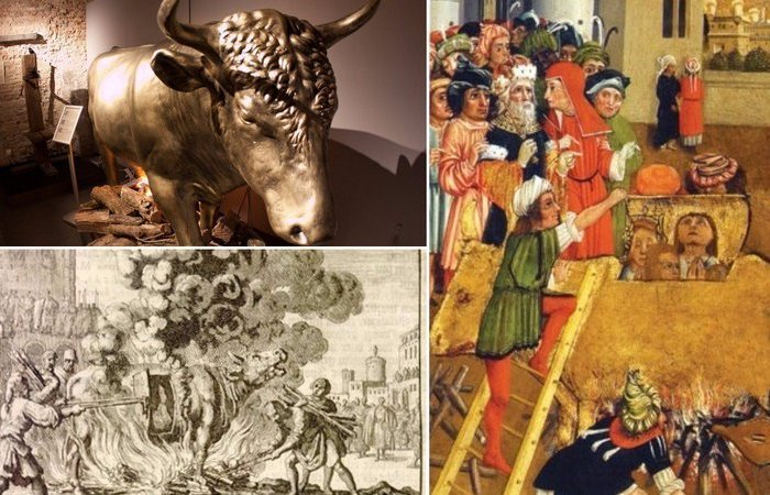 Древнегреческое устройство для пыток Медный бык.