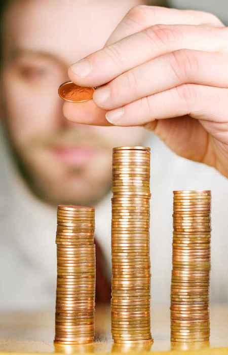 Количество монет, сложенных в стопку за 30 секунд.