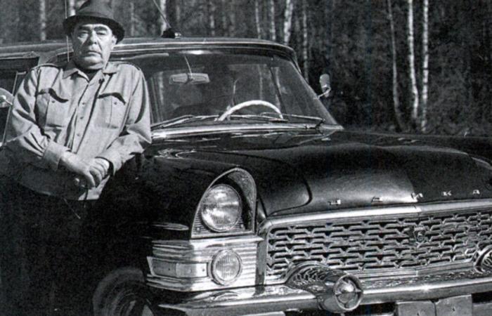 Автомобили Брежнева.