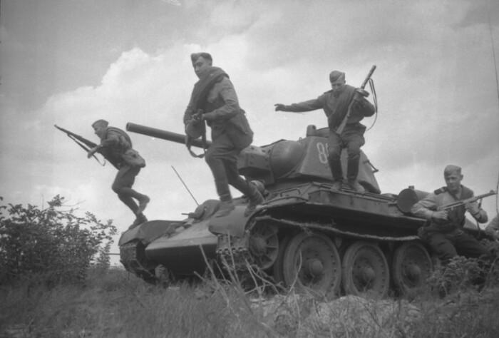 Главный советский танк Второй мировой войны. |Фото: Twitter.