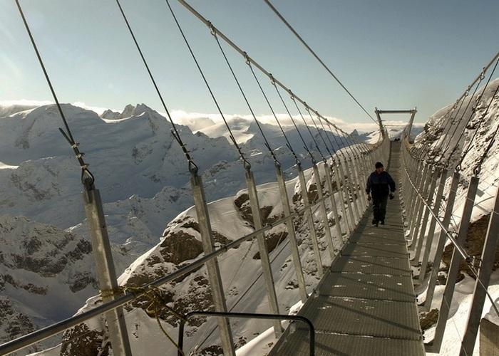 Мост горы «Титлис».