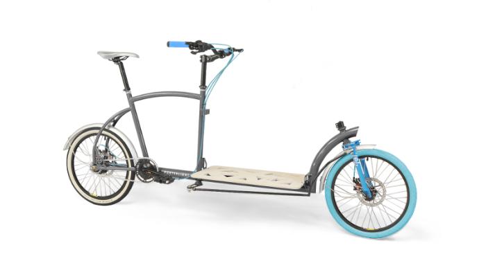 Велосипед вместо грузовика.