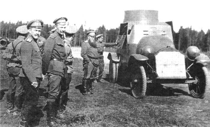 Бронеавтомобиль, выпущенный на Обуховском заводе.