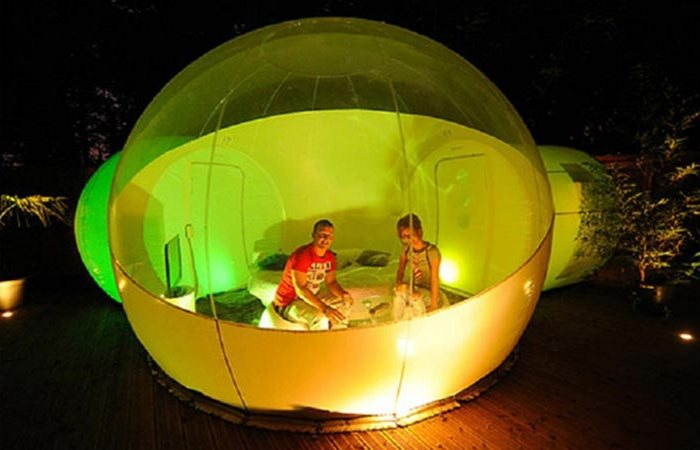 Палатка Bubble Tents.