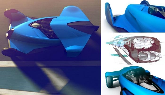 Концепт Bugatti Coupe Motion.