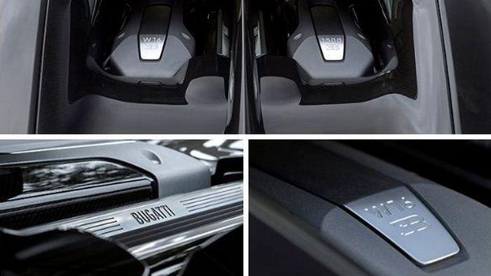 Bugatti Chiron: продумано всё до мелочей.