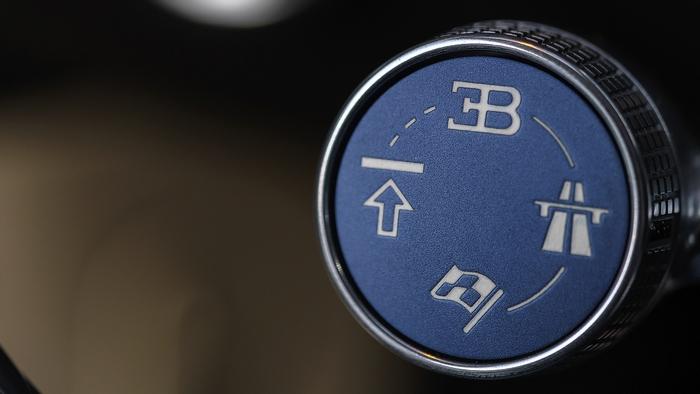 Bugatti Chiron: роскошь в деталях.