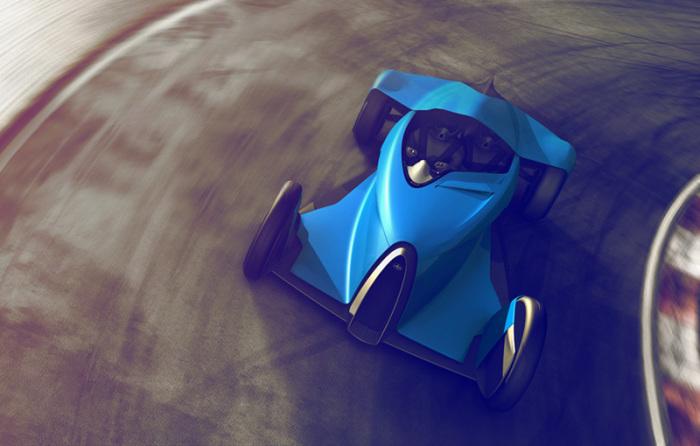 Bugatti Coupe Motion - новый концепт легендарного бренда.