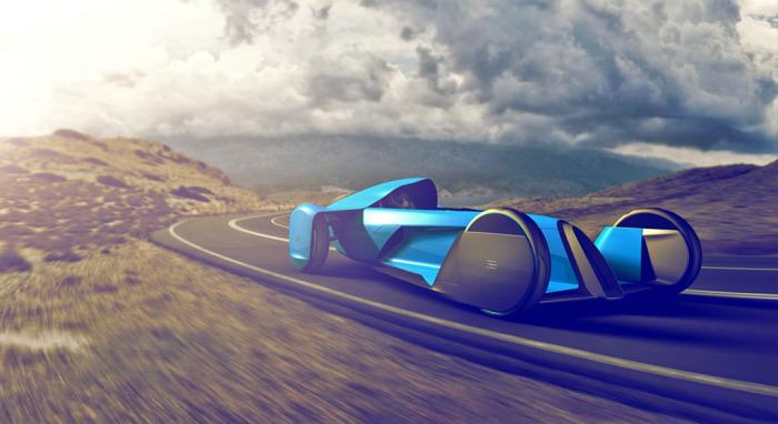 Концепт Bugatti Coupe Motion - новая точка отсчёта.