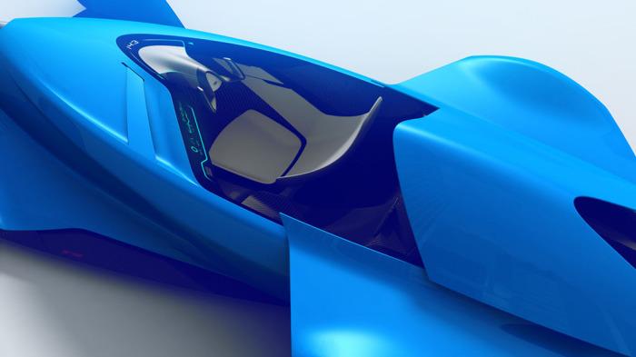 Bugatti Coupe Motion: лёгкий аэродинамический дизайн.
