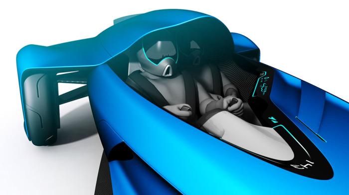 Bugatti Coupe Motion - двухместный концепт легендарного бренда.