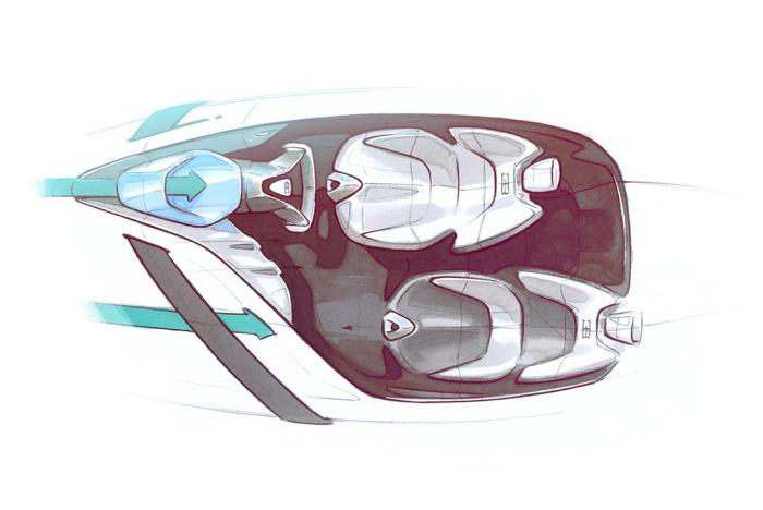 Новая гонка от Bugatti.