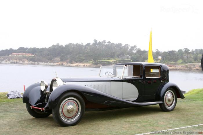 1931 Bugatti Type 41 Royale.