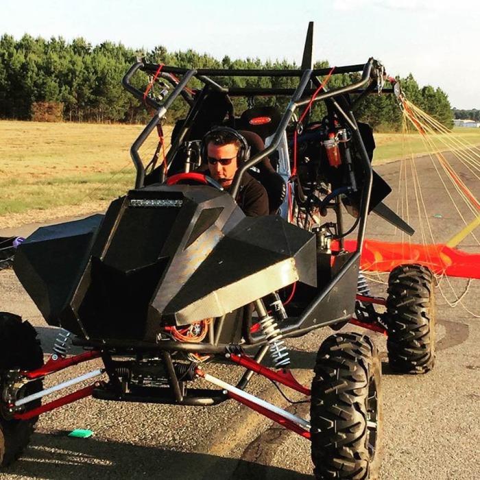 Весьма любопытный гибрид Parajet Skycar.