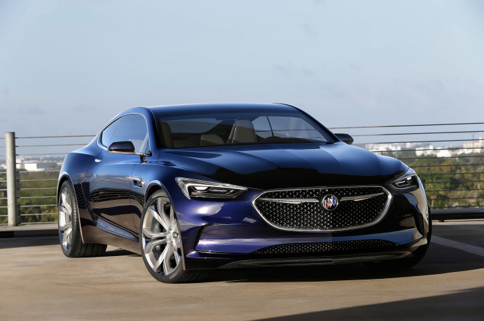 Роскошный концепт Buick Avista Concept.