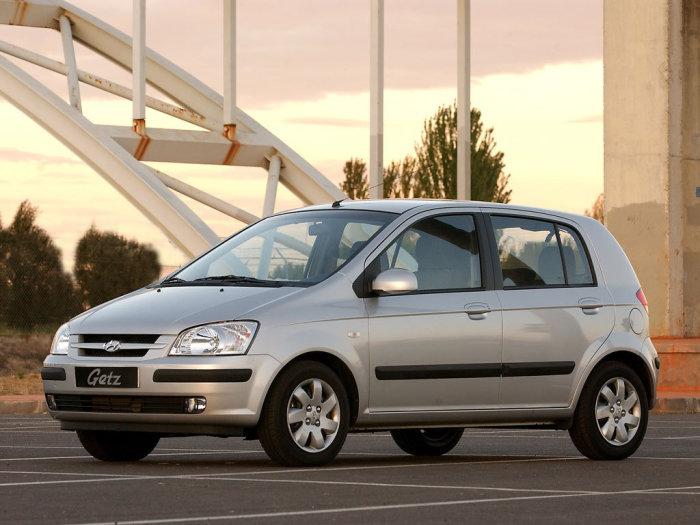 Неплохой автомобиль для новичков - Hyundai Getz.