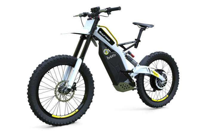 Bultaco Brinco - велосипед на батарее.