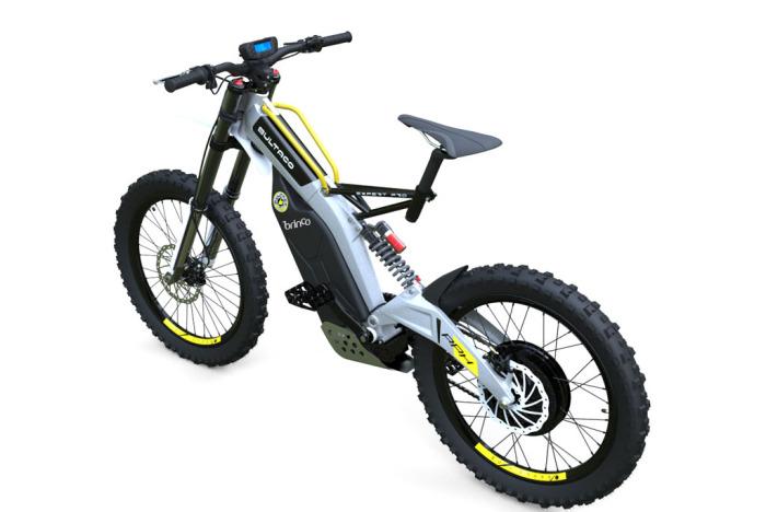 Bultaco Brinco - электробайк с педалям.