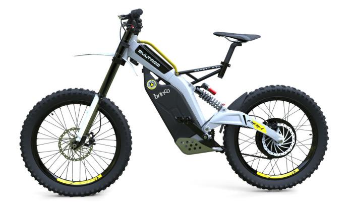 Bultaco Brinco: алюминиевая рама и мощные дисковые тормоза.