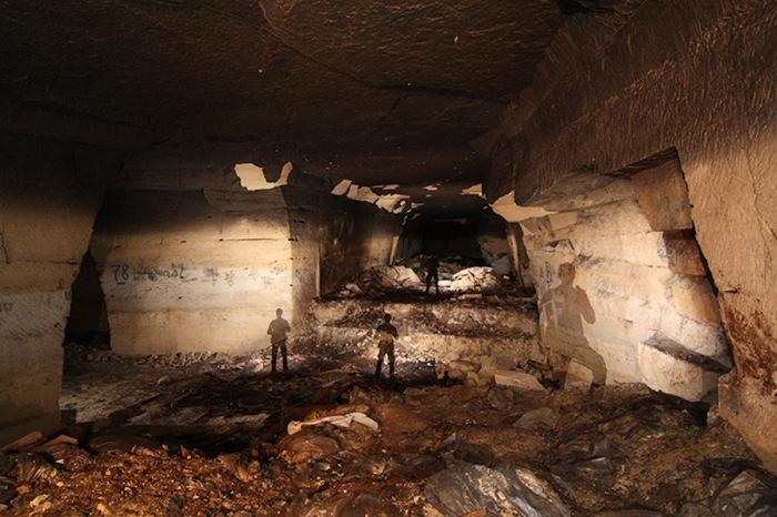 Заброшенный бункер во Франции.