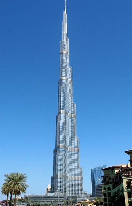 Самое высокое здание в мире.