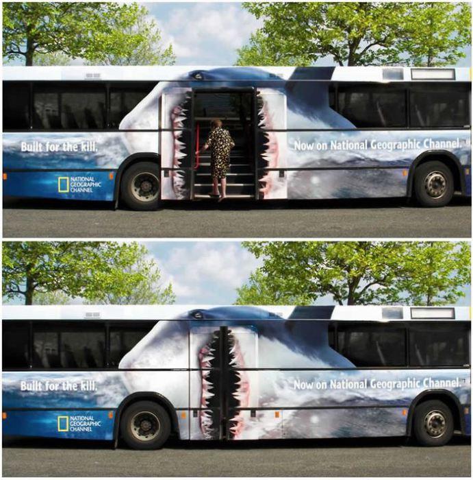 Автобус-акула.