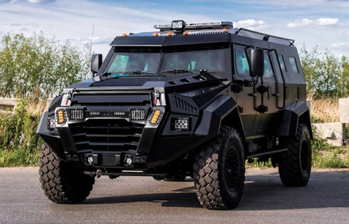 Детище компании Inkas Armored Vehicle Manufacturing.