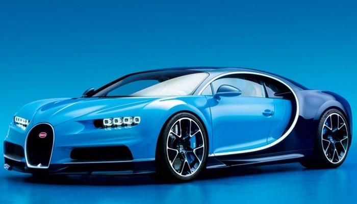 Автомобиль Chiron Bugatti.