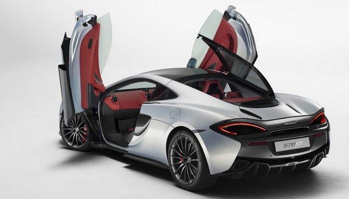 Автомобиль McLaren 570GT