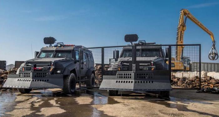 Пока Inkas Sentry MPV есть только для силовых структур.