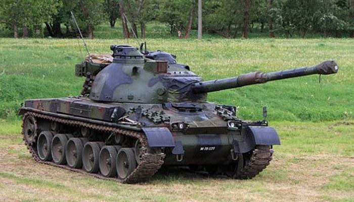 Танк PZ 68.