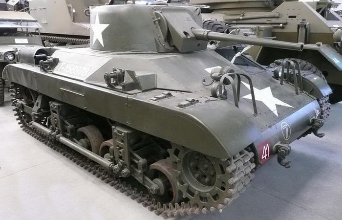 Легкий танк M22 Locust.