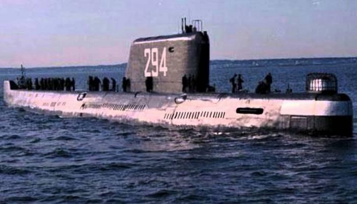 Подводная лодка проекта К-19.