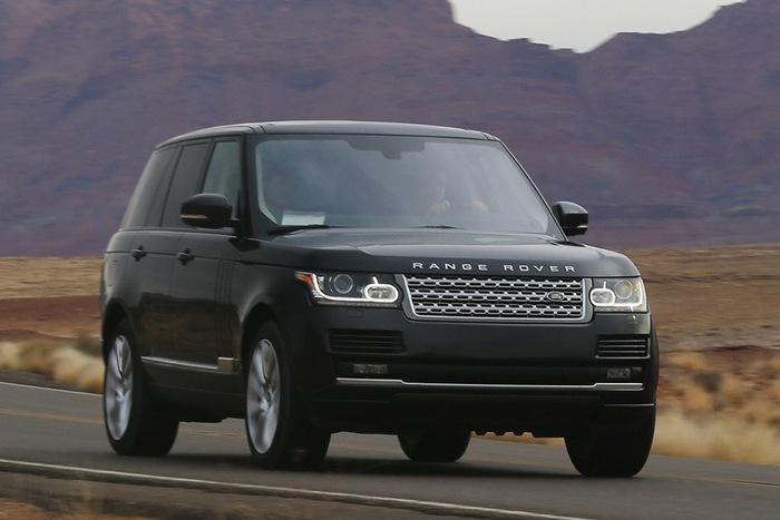Land Rover LR2.