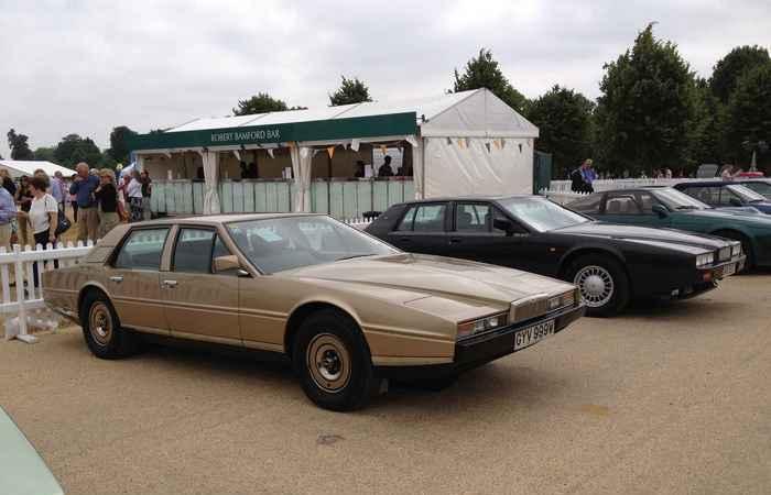 Aston Martin Lagonda.