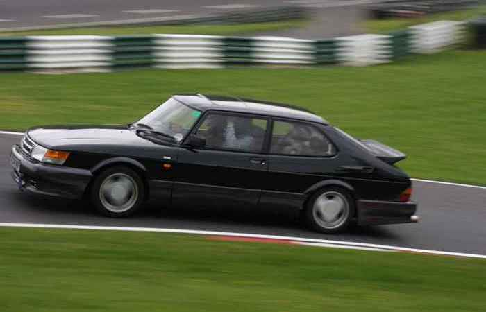 Saab 900 Turbo.