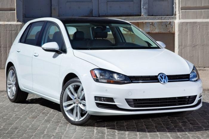 Автомобиль Volkswagen Golf TDI.