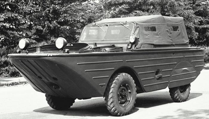 Автомобиль-амфибия ГАЗ-46 «МАВ».